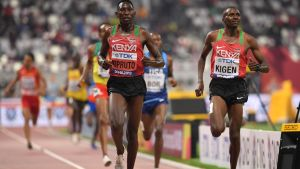 Kenyansk dominans i heaten
