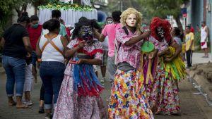 Fiesta i Chinandega i Nicaragua.