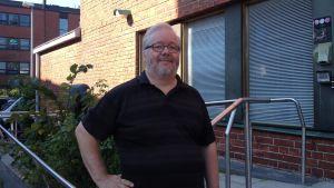 Kaplan Kaj Andersson vid Vanda svenska församling.