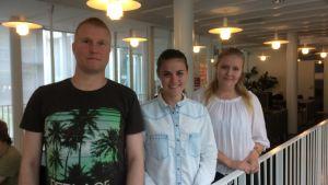 Studerande vid Svenska social- och kommunalhögskolan.