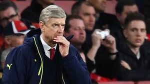 Arsene Wenger, Arsenals chefstränare.