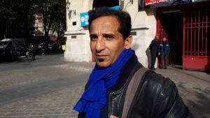 Mouloud Aissou, journalist och fackföreningsrepresentant på journalistförbundet SNJ, en gren av mäktiga facket CGT.