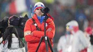 Siegfried Mazet övervakar skyttet