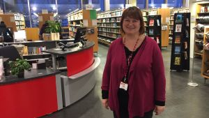Biblioteksdirektör Marita Ahola, Vasa stad