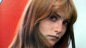Isabelle Huppert lähikuvassa noin vuonna 1980.