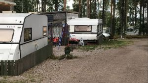 Husvagnar på Sondby Caravan