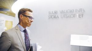 Finansminister Alexander Stubb.