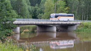 Bron över Svartsån i Drägsby, Borgå.
