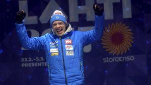 Iivo Niskanen vinner Nordic World Ski Championships.
