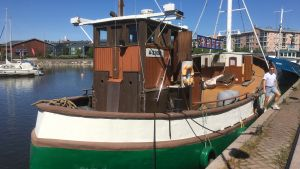 Skärgårdsteaterns båt Sälö