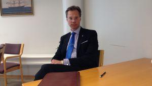 Styrelseordförande Hans Sohlström på Rettig ICC.