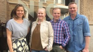Sonja Kailassaari, Lotta Backlund, Robert Bergholm, Mårten Svartström