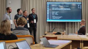 Esitys Nordic Hack Dayssä 2018