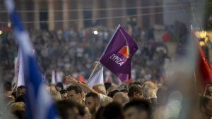 Syriza-anhängare