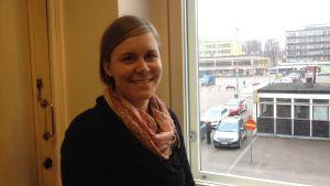 Liselott Sundbäck, koordinator för Fikaprojektet