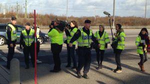 Poliser i Trelleborg