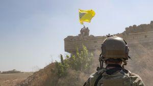 Den kurddominerade SDF milisen i Syrien har samarbetat med USA i kampen mot terrorgruppen IS.