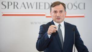 Polens justitieminister Zbigniew Ziobro.