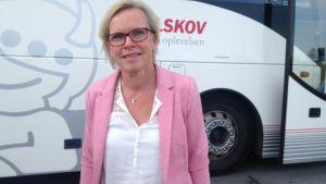 Rose-Marie Torstensson pendlar mellan Malmö och Köpenhamn.
