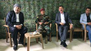 """General Suleiman styr de kurdiska """"Peshmerga""""-soldaterna i Tel Skef, norra Irak."""
