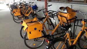 Itellas cyklar i Karleby.