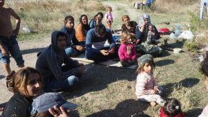 syrier, izmir, flyktingar