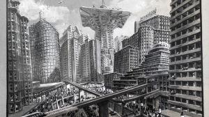 Metropolis elokuvan luonnos