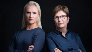 Satu Roos och Kaisa Nummela skriver under namnet Tomas Gads.