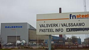 Valsverket i Dalsbruk gick i konkurs på sommaren 2012