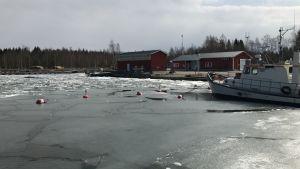 Långskärs fiskehamn i Sundom, Vasa.