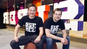 Supercells grundare Ilkka Paananen och Mikko Kodisoja.