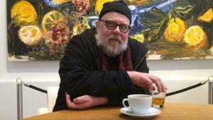 Otso Kantokorpi Wäinö Aaltosen museon kahvilassa