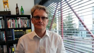 Frank Johansson, verksamhetsledare på Amnesty International