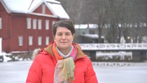 Lovisa stads turistsekreterare Lilian Järvinen