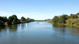 Hawkesbury River i Australien.