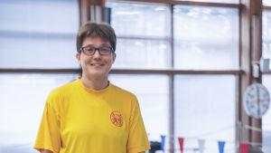 Simlärare Ursula Koivunen.