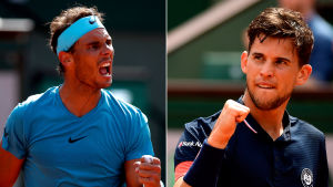 Nadal mot Thiem i final i Paris.