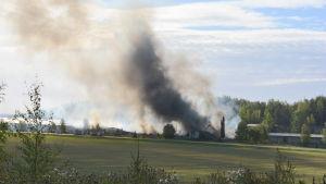 Fabriksbrand i Salo.