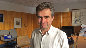 Eric Fournier, borgmästare i Chamonix vill begränsa turismen i byn.