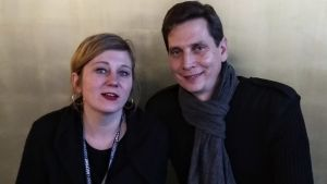 Dokumentärfilmarna Jasmine Herold och Michael Beamish
