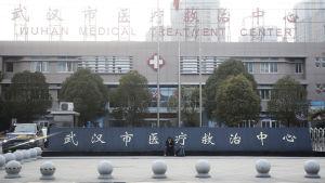 Sjukhus i Wuhan, Kina