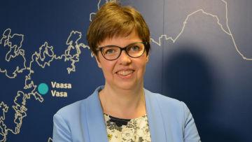 Kommunforskaren Siv Sandberg vid Åbo Akademi