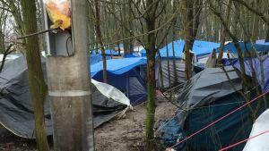 Flyktingläger i Dunkerque, Franrike