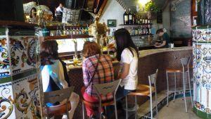 Tapas-baari Melillan kaupungissa