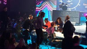 The X Factor studiossa Lontoossa