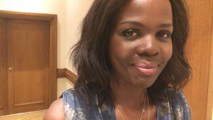 Yvonne Ndege från UNHCR.