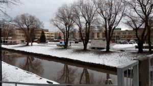 Stadssundet i Karleby.
