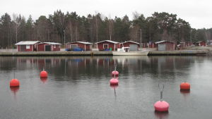Fiskehamnen i Hangöby