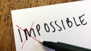paperilla sana impossible / possible