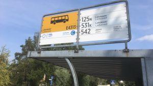 Busskur i Ladusved